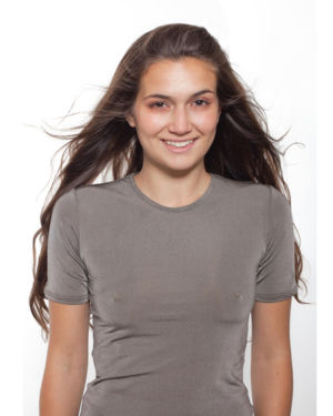 Dámské tričko s krátkým rukávem - 100% postříbření po celém povrchu PADYCARE®